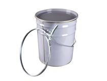 Pail 20L White Lock With Ring